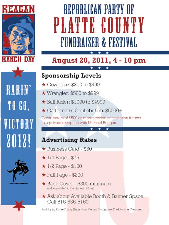 Reagan Ranch Day Sponsorship